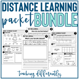 Special Education Home Learning Packet Bundle