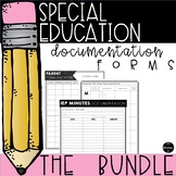 Special Education Documentation {GROWING BUNDLE}
