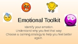 Special Education Emotional Toolkit