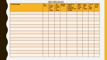 Special Education Essential Forms