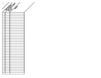 Special Education File Holder Checklist