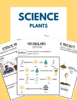 Special Education Functional Science - Plants