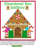 Special Education Gingerbread Man Addition for Students with Autism
