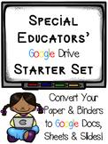 Special Education Google Drive Starter Set