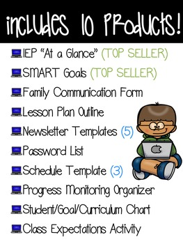 Special Education Google Drive Starter Set