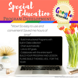 Special Education Data Survival Kit- Google Webinar PLUS customizable forms!