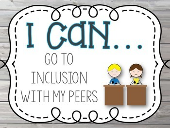 "Special Education ""I Can"" Adaptive Skill Statements"
