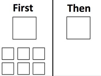 Behavior Charts/Behavior Boards/First Then Boards