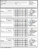 Special Education IEP Data Collection Sheets for Teachers & Students EDITABLE