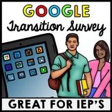 Special Education - IEP Transition Plan Survey - Career Su
