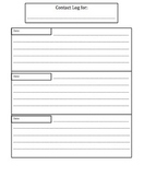 Special Education Information/Organization packet for teachers
