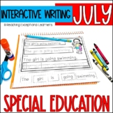 July Interactive Writing Notebook