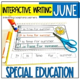 June Interactive Writing Notebook