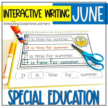June Interactive Journals for Special Education