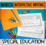 March Interactive Writing Notebook
