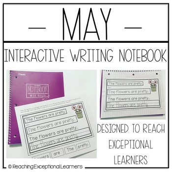 Interactive Writing Notebook for Special Education: May