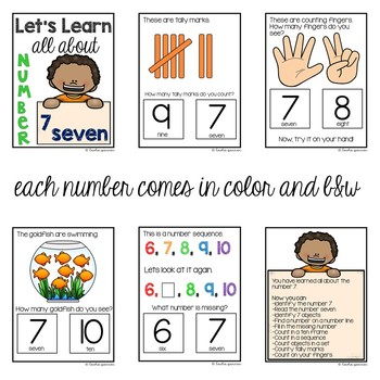 Special Education Interactive Math Workbook Number 4 Freebie