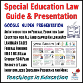 Special Education Law Guide