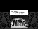 Special Education Law Portfolio