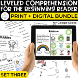 Special Education Leveled Comprehension Print + Digital Bu