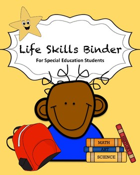 Special Education Life Skills Binder (ADHD & Autism)