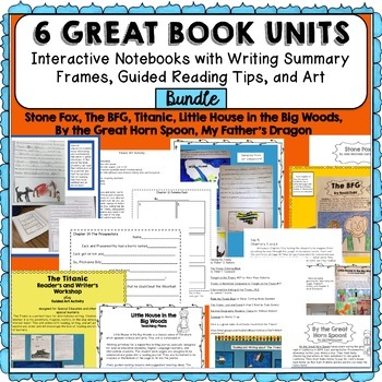 Special Education Best Practices And >> Special Education Reading And Writing Interactive Notebook Bundle