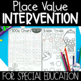 Special Education Math Curriculum | Place Value Intervention