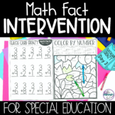 Special Education Math Curriculum | Primary SPED | Math Fa
