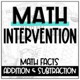 Special Education Math Curriculum | Primary SPED | Math Fa