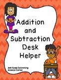 Special Education Math Desk Helper