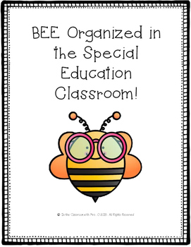 Special Education Organizational Forms