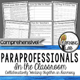 Special Education - Paraprofessionals in the Classroom