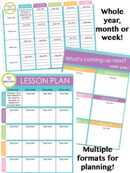 Special Education Planning Pack {Fully Editable}