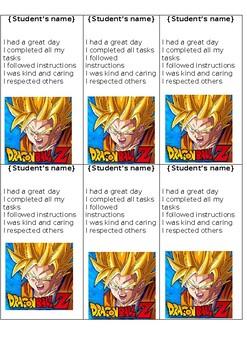 Special Education Positive Reward Cards