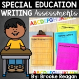 Special Education Progress Monitoring Writing Assessments