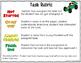 Special Education RTI Visual Task List Behavior Intervention