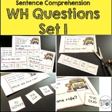 Reading Comprehension:WH Questions SET 1-SPECIAL EDUCATION