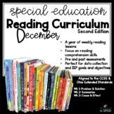 Special Education Reading Curriculum 2nd Edition: December