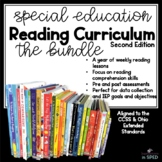 Special Education Reading Curriculum 2nd Editions: The Bundle