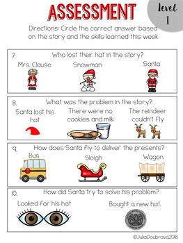 Special Education Reading Curriculum- December- Reading Skill-Comprehension Unit