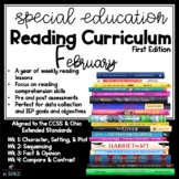 Special Education Reading Curriculum-February Reading Comprehension and Skills