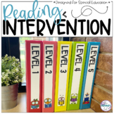 Special Education Reading Intervention for Tier 3