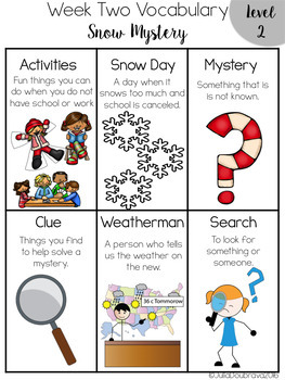 Special Ed Reading Curriculum- January- Reading Skills