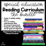 Special Education Reading Curriculum Bundle 37 weeks of re