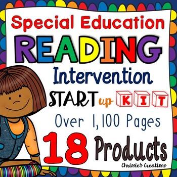 Special Education:  Reading Intervention:  Start up kit