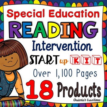 Special Education:  Reading Intervention:  Start up kit