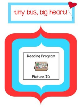 Special Education Reading Program: Picture ID Bundle
