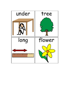Special Education Reading Program Picture Supports 1
