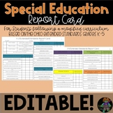 Special Education Report Card- Ohio Extended Standards and CCSC
