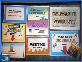 Special Education (Resource Room) Signs and Posters! 30+ Posters!